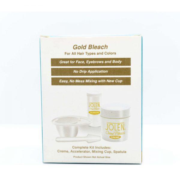 Jolen creme bleach gold bleach (28 g) usa 1