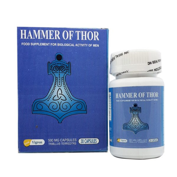 Hammer Of Thor Male Supplement 30 capsules
