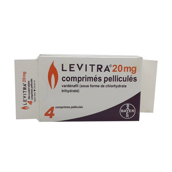 Levitra film coated tablets 20mg