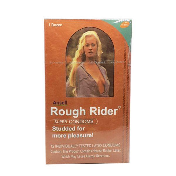 Rough Rider Super Condoms 12 Pieces