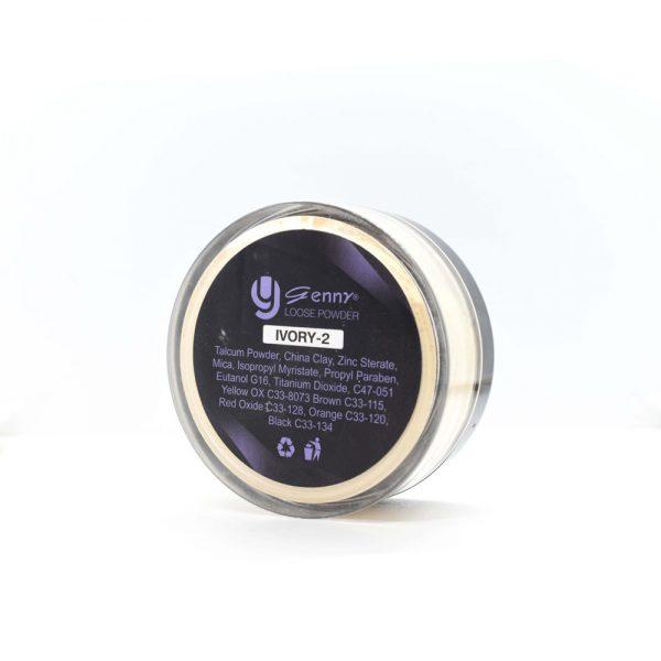 Genny professional makeup loose powder ivory 02 1