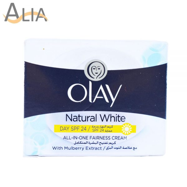 Olay natural white all in one fairness cream (50g)