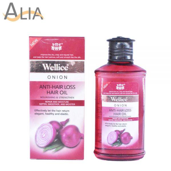 Wellice anti hair loss onion hair oil (150 ml)