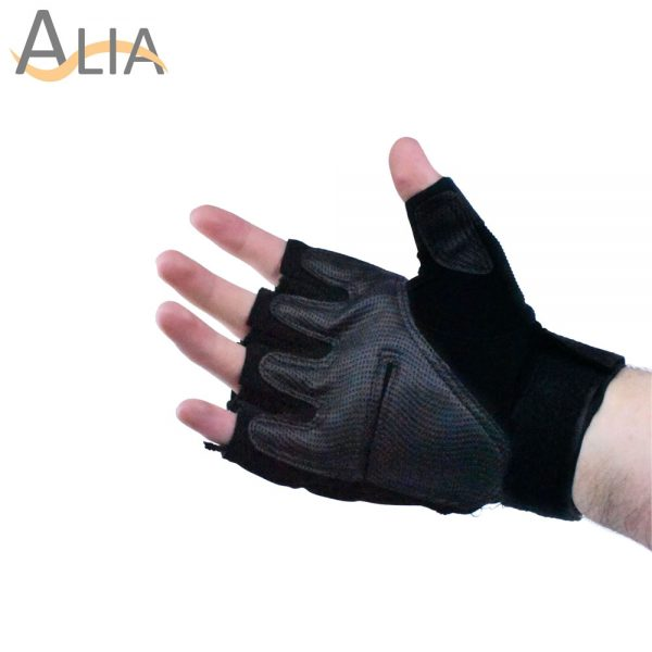All purpose cycling hiking oakley gloves half fingers 1 pair.