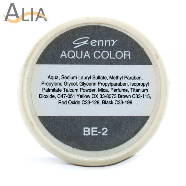 Genny aqua face language color be 2.